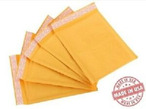 100 1 7 25x12 Usa Kraft Bubble Mailers Envelopes Bags 100 Recyclable