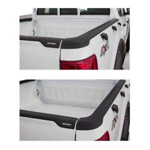 Bushwacker Smoothback Tailgate Bed Rail Caps For 11 15 Ford Ranger T6 60 Bed