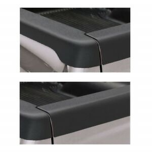 Bushwacker Smoothback Tailgate Bed Rail Caps For 95 04 Toyota Tacoma 74 5 Bed