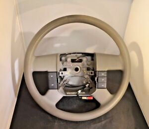04 08 Oem Ford F 150 Gray Rubber Steering Wheel W Cruise Control