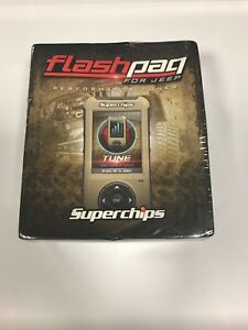 Superchips 3874 Flashpaq F5 For Jeep Performance Tuner New