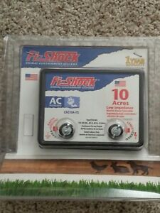 Fi shock Eac10a fs Electric Fence Energizer 10 acre Low Impedance