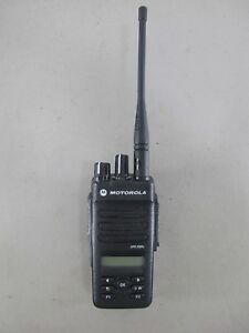 Motorola Mototrbo Xpr 3500e Uhf 403 512 Mhz Two Way Radio Aah02rdh9va1an