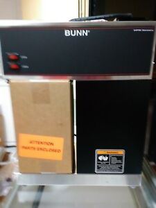 Bunn Vpr 33200 0000 Coffee Brewer 12 Cups 2 Warmers 120v