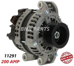 200 Amp 11291 Alternator Ford F Super Duty High Output Performance New Hd Usa