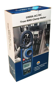 Cem Dt 3347 Ac dc 1000 Amp Clamp on Current Voltage Capacitance Frequency Meter