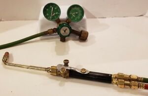 Harris Casting Torch With Gauges Hose And 1 Extra Tip Cw