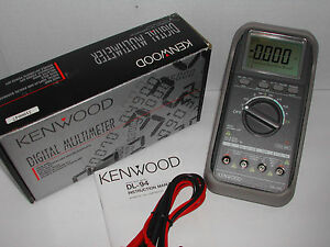 Kenwood Dl 94 5000 Count Digital Multimeter With Data Logging Dmm New Nib