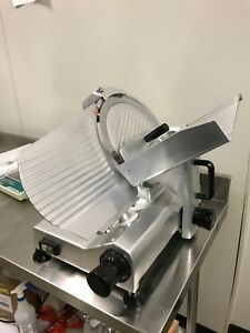 Chicago Food Machinery Cfm 12 Deli Meat Slicer 12