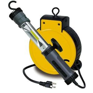 Led Retractable Reel Garage Auto Repair Light 30 Ft Cord 3230lc