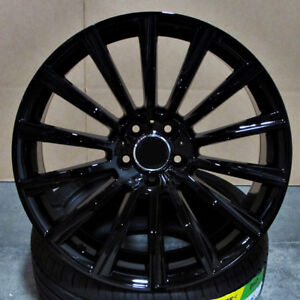 19 Staggered Wheels Rims For Mercedes W204 W205 C250 C300 C350 2007 Present