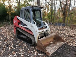 2004 Takeuchi Tl130 Skid Steer Loader With A c Heat 2800 Hrs 2 Speed
