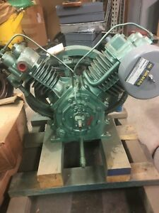 Reconditioned Dresser Air Compressor Pump 440a Buyer Pays Shipping 5 To 7 1 2 Hp