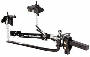 Husky Round Bar Weight Distribution Hitch Sway Control Tow Trailer Rv Suv Truck