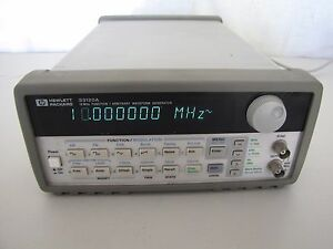 Agilent 33120a 15 Mhz Function Arbitrary Waveform Generator