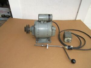 South Bend Lathe 10k Motor Reversing Switch Drum Lever Gear 2 Step Pulley