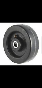 Lot Of 3 5 Caster Wheel 1000 Lb Rating Width 2 Phenolic Fits Dia 1 2