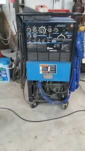 Miller Syncrowave 250 Tig Welder Water Cooled Torch Many Extras