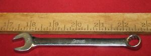 Snap On Tools Oex140 7 16 Short Combo Wrench 12pt Old Logo Made In Usa