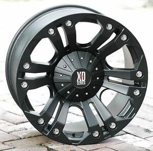 20x9 Black Wheels Xd778 Monster 1994 2018 Dodge Ram 2500 3500 Trucks 8x6 5