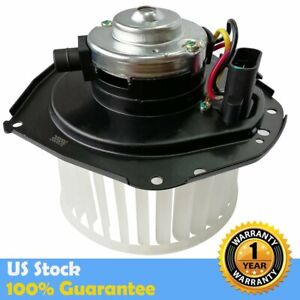 700092 Heater Blower Motor W Fan Cage Front For Chevy Gmc Pickup Buick Pontiac