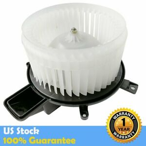 Front Ac Heater Blower Motor W Fan Cage For Chrysler Jeep Dodge Durango 700216