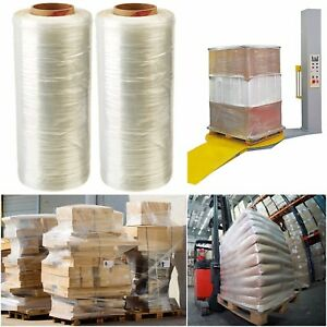 Industrial Strength Stretch Shrink Wrap Plastic Pallet Film Wrap 14 5 X 1450