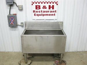 Krowne 36 Stainless Steel Under Bar Ice Well Bin 7 Circuit Cold Plate 3