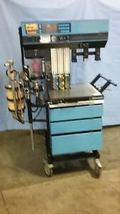 Draeger Narcomed 2b Anesthesia Machine Good Condition Powers Up