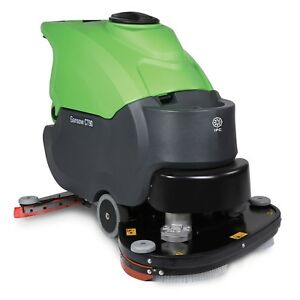 Ipc Eagle Ct90bt85b 225obc 32 Traction Drive Heavy Duty Automatic Scrubber With