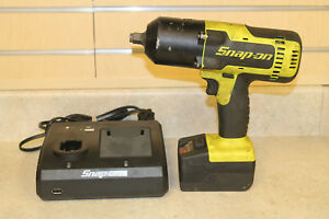 Snap on Ct8850hv 18v 1 2 Cordless Impact Wrench W Battery charger pre owned