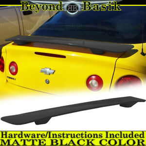 2005 06 07 08 09 2010 Chevy Cobalt Matte Black Factory Style Spoiler Wing