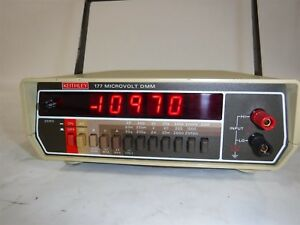 Used Nice Keithley Instrument 177 Microvolt Dmm S2