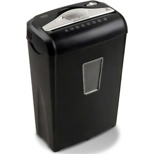 Paper Shredder High Security 8 sheet Micro cut Shreds Credit Cards Small Paper