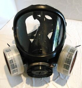 3m 7800s Full Face Respirator Silicone Mask Size Large