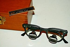 Design For Vision Metal Surgical Dental 6 25 Telescopes Loupes In Box