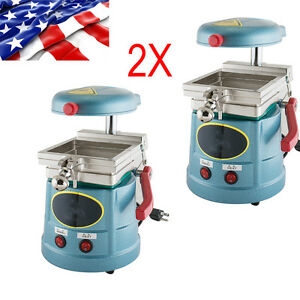 us 2pcs Dental Vacuum Forming Molding Machine Former Dental Lab Equipment