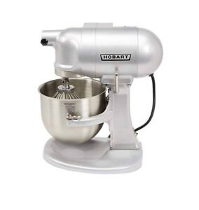 Hobart N50 60 Heavy duty Countertop 5 Quart 3 Speed Mixer Kitchen Gear Driven