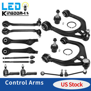 14pc Front Suspension Control Arm Kit For 2005 10 Chrysler 300 Dodge Charger Rwd