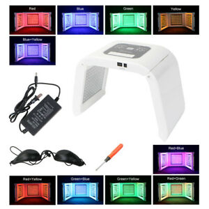 Photon Led Phototherapy Red Blue Green Yellow Skin Rejuvenation And Free Machine