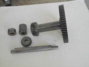 Logan 10 Inch Lathe Back Gear Assembly From A Model 210