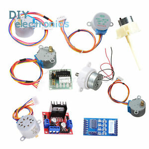 Dc 5 12v Stepper Motor 28byj 48 2003 l298 Driver Test Module Fit For Arduino Us