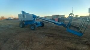 2011 Genie S40 Manlift Boomlift Aeriel Lift 2464hrs Used