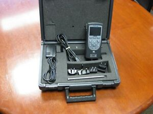 Chatillon Dfs2 025 Digital Force Gauge 25lb With Case Extras