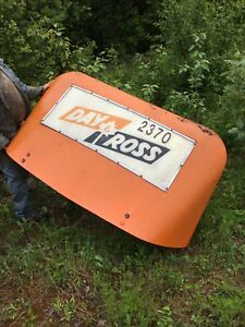 Vintage Air Deflector For Highway Truck Lighted
