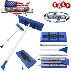Car Truck Cleaning Windshield Ice Scraper Telescoping Foam Brush Snow Broom Joe