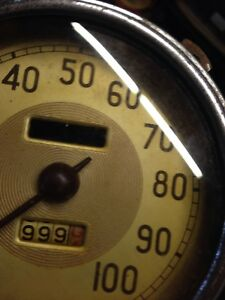 1937 39 Ford Speedometer Waltham