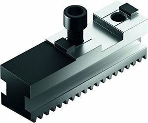 Schunk 0159101 Hardened Base Jaws Straight 20 Mm Groove Width 26 Mm X 37 Mm X