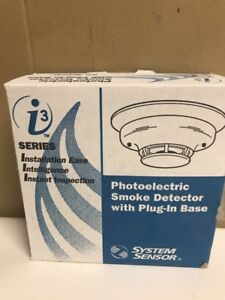 System Sensor 4wtar b 4 wire Smoke Detector With Thermal And Sounder