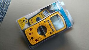 Ideal 61 342 Test Pro Digital Multimeter With Trms Temp Capacitance Backlight